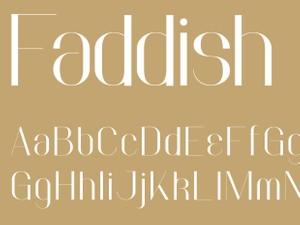 Faddish Bold