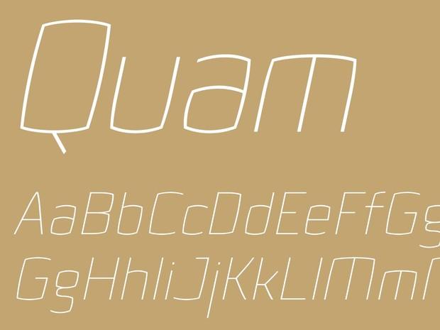 Quam Thin Italic