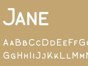 Jane Caps Regular