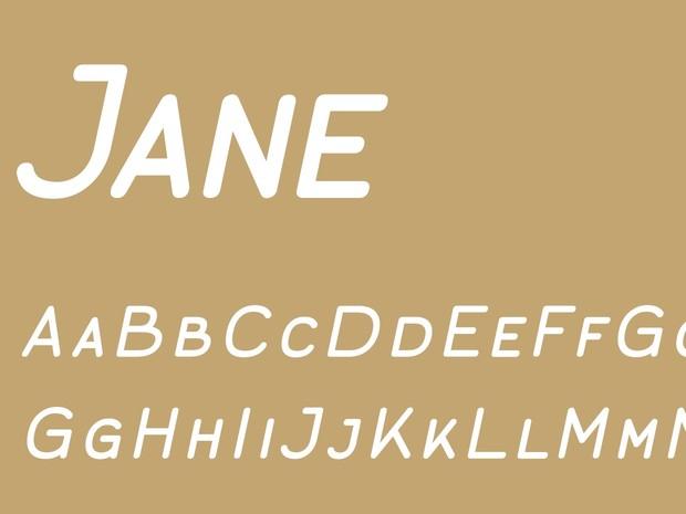 Jane Caps Regular Italic
