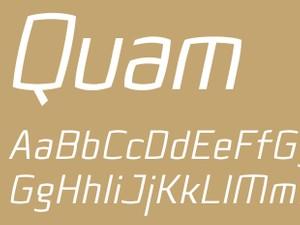 Quam Regular Italic