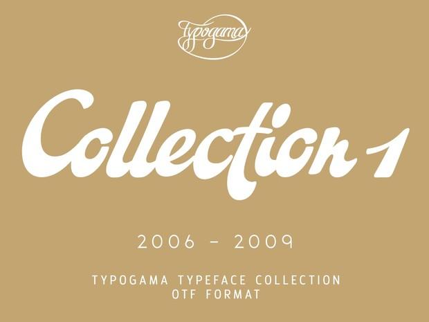 Typogama Collection 2006-09