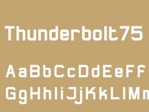 Thunderbolt75 Bold