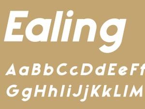 Ealing Black Italic