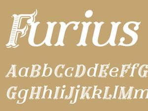 Furius Title Italic
