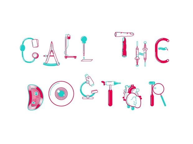 Medic Type –Illustrative font and letters