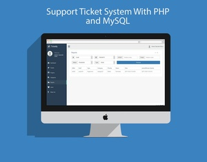 Support Ticket System With PHP and MySQL