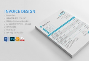 Business invoice