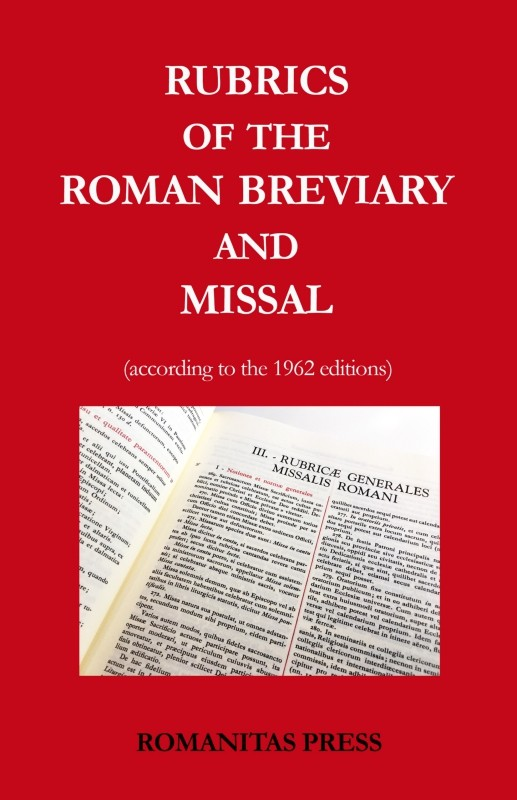 Rubrics of the Roman Breviary and Missal PDF BOOK