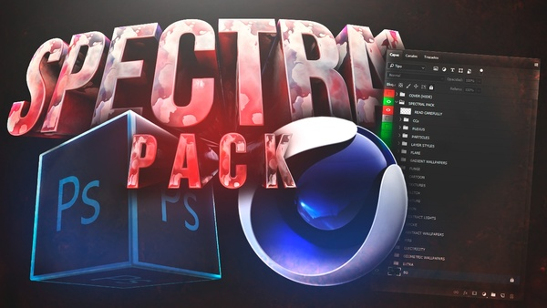 SpectralPack | THE BIGGEST FREE GFX PACK (ANDROID + PC) - By Aleo Carpa Jacar MineXx & Yisus