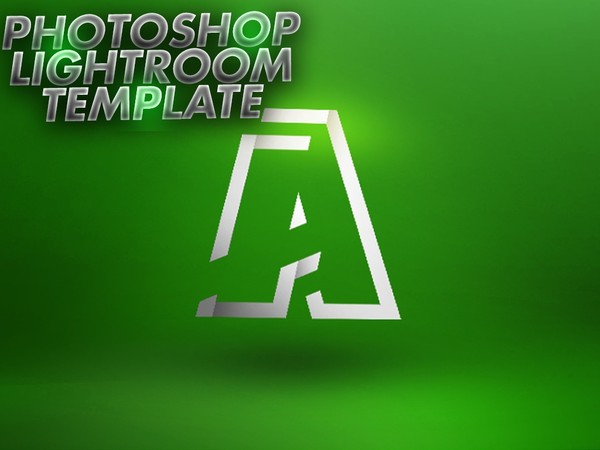 Photoshop Lightroom Template PSD -Aleo.