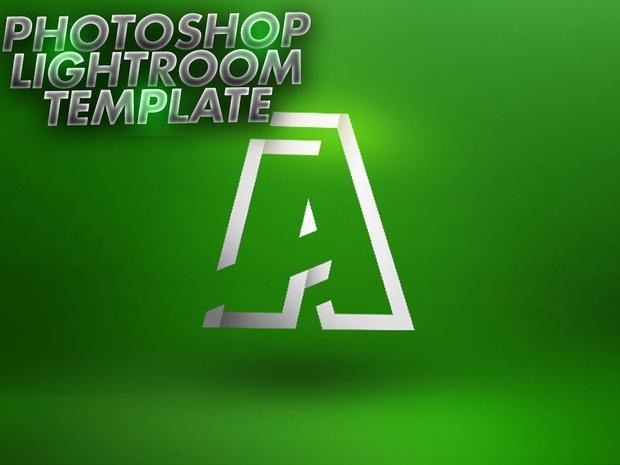 Photoshop Lightroom Template PSD -Aleo.
