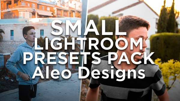 SMALL LIGHTROOM PRESETS PACK - Aleo.