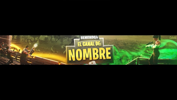 Free Fortnite Banner Template Editable In Photoshop