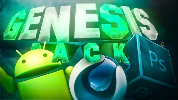 Genesis GFX Pack | The BEST GFX PACK FREE 2017 - Aleo x Jacar