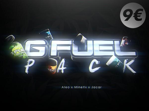 GFUEL MODEL PACK 3D [COMPLETE] +350 RENDERS - Aleo x Jacar x MineXx