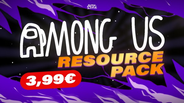AMONG US RESOURCE PACK GFX - Aleo.