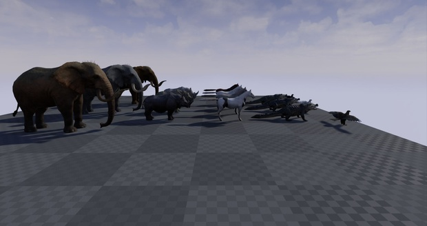Realistic Animal Pack for Unreal Engine 4