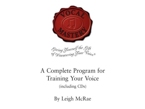 The Vocal Mastery Program - Audio
