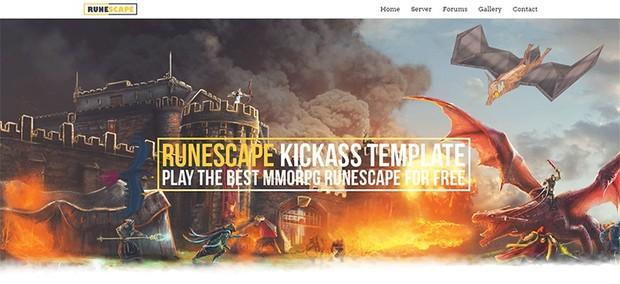 RuneScape KickA$$ Template[HTML]
