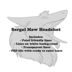 Sergal Maw Headshot