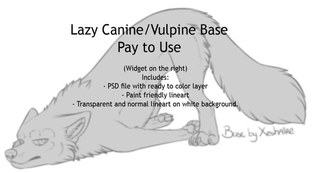 Lazy Canine Base