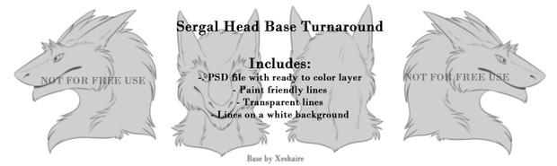 Sergal head for sale