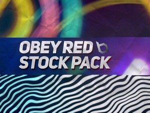 Obey Red Stock Pack 1.