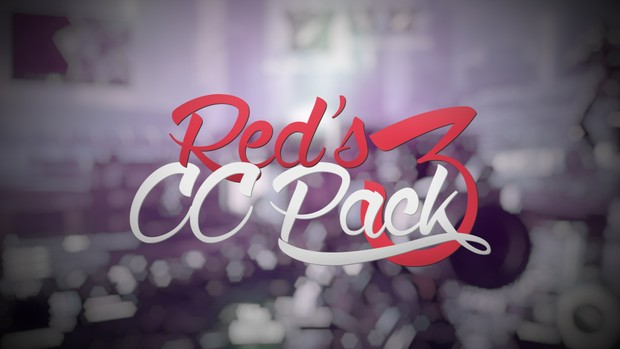 Red CC Pack 3