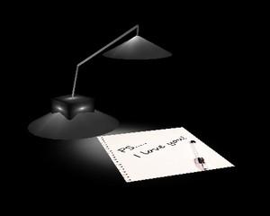 Mesh Lamp Note