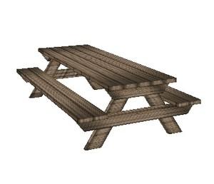 Picnic Table Mesh SoCo - Mesh picnic table