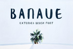 Banaue Extended Brush Font