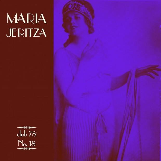 Maria Jeritza * club 78 No. 18