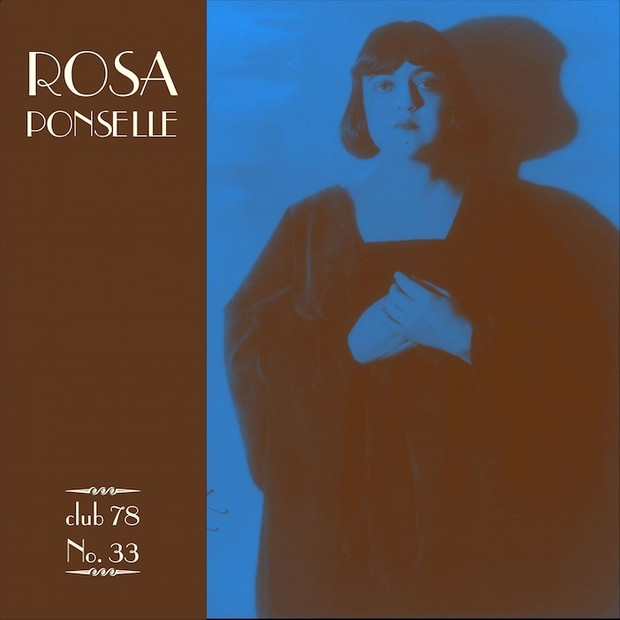 Rosa Ponselle * club 78 No. 33