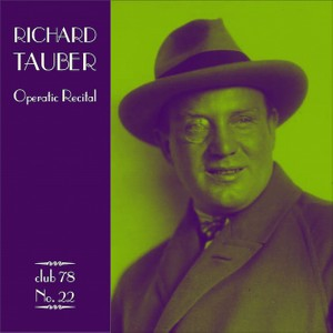 Richard Tauber * club 78 No. 22