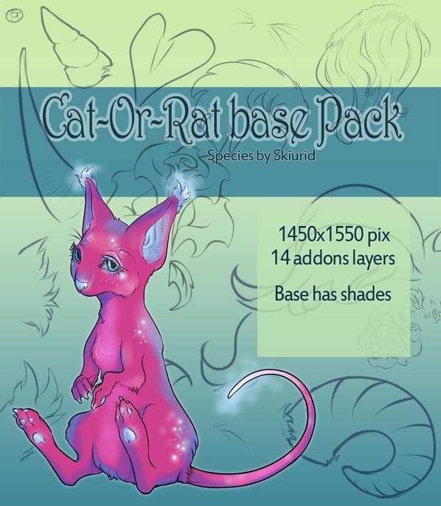 Closed Species Base - Catorat base Pack - Specie 1 [P2U]