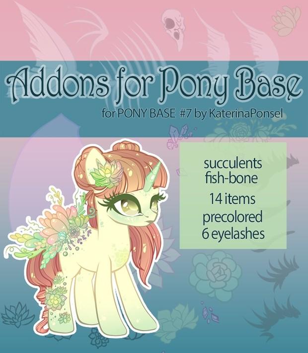 [P2U] Addons for pony base