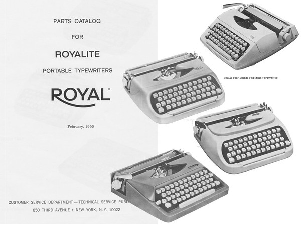 1955-1965 Royal Royalite, Dart, Parade, Skylark, PRL, PRLP, El Dorado, Companion, Jupiter and Citade