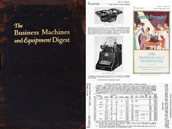 1928 Business Machines and Equipment Digest