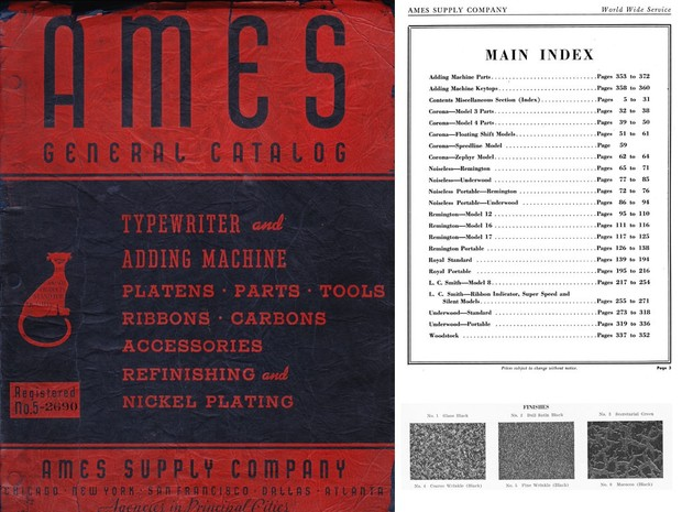 1940  AMES General Catalog No. 5