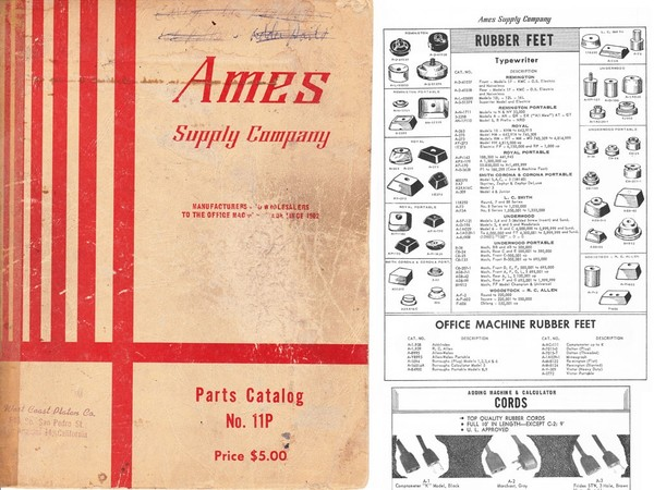 1965 AMES Parts Catalog No. 11P