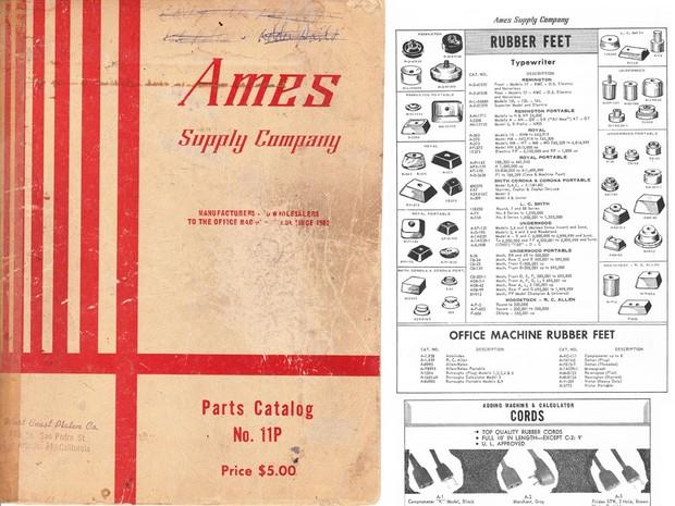 1965 AMES Parts Catalog No. 11P