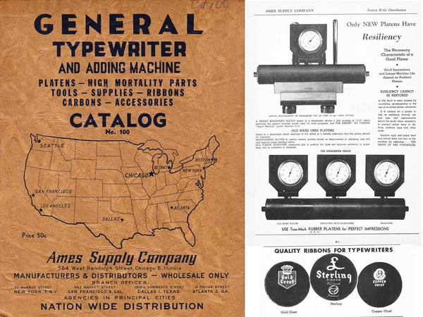 1946 AMES General Catalog No. 100