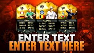 FIFA 16 TOTW 33 THUMBNAIL TEMPLATE