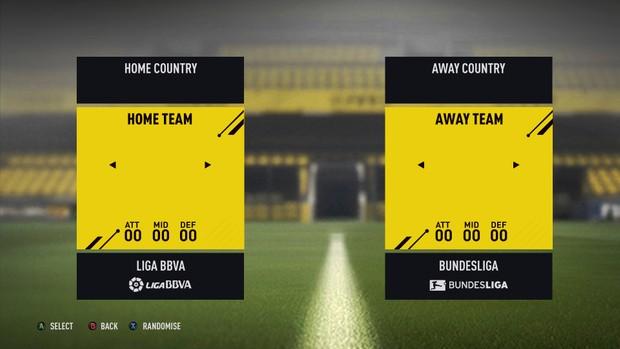 FIFA 17 FULLY EDITABLE MENU
