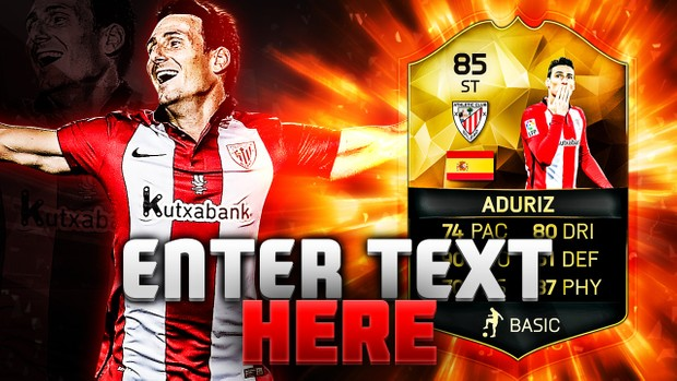 FIFA 16 85 Aduriz Thumbnail Template