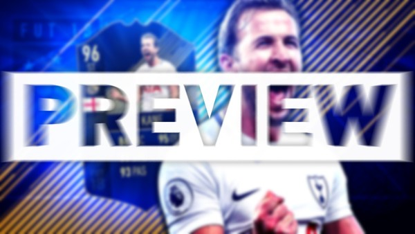 FIFA 18 TEAM OF THE YEAR KANE THUMBNAIL TEMPLATE