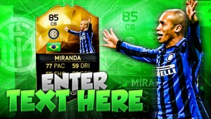 FIFA 16 Miranda Thumbnail Template TOTW 24