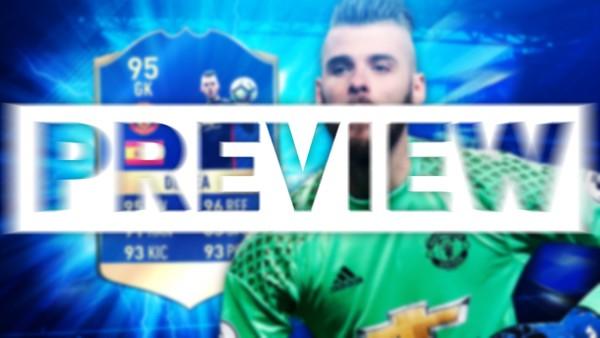 FIFA 17 TOTS DE GEA THUMBNAIL TEMPLATE