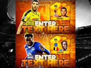 FIFA 16 MOTM LUKAKU & DEENEY THUMBNAIL TEMPLATE PACK